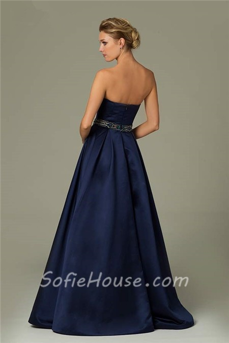 Long Bridesmaid dress in color Blue, Ivory, Fuchsia/Pink