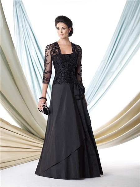 Formal Elizabeth K Embroidered-Lace Dress - PromGirl