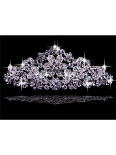 Beautiful Rhinestones Wedding Crown Tiaras