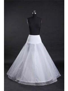 Fitted Drop Waist Jersey Net Hooped Wedding Bridal Petticoat Crinoline Slip