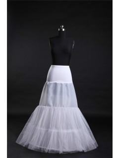 Mermaid Jersey Net Hooped Fish Cut Wedding Bridal Crinoline Slip Petticoat