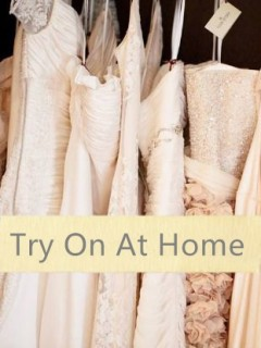 Try Wedding Dress At Home