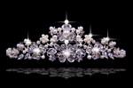 shining pearl tiara